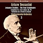 Arturo Toscanini Brahms: The Four Symphonies (1935), Volume 3