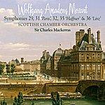 Scottish Chamber Orchestra Mozart Symphonies 29, 31 (Paris), 32, 35 (Haffner) & 36 (Linz)