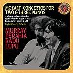 Radu Lupu Mozart: Concertos For 2 & 3 Pianos; Andante And Variations For Piano Four Hands [Expanded Edition]