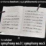 Sir Thomas Beecham Schubert: Symphonies Nos. 3, 5