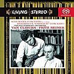 """Van Cliburn Schumann: Piano Concerto In A; Beethoven: Piano Concerto No. 5, Op. 73 """"emperor"""""""