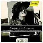 Lotte Lehmann Lehmann, Lotte: Lieder Und Leben
