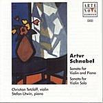Christian Tetzlaff Artur Schnabel: Sonatas For Violin And Piano