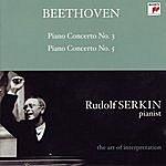"Leonard Bernstein Beethoven: Piano Concertos Nos. 3 & 5 ""emperor"" (Rudolf Serkin - The Art Of Interpretation)"
