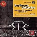 André Previn Beethoven: Piano Concerto No. 4 & 5