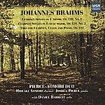 Daniel Barrett Brahms: Clarinet Sonatas 1 & 2; Clarinet Trio