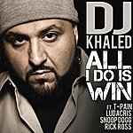 Cover Art: All I Do Is Win (Feat. T-Pain, Ludacris, Snoop Dogg & Rick Ross) (Edited) (Single)