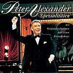 Peter Alexander Spezialitäten Mit Originalaufnahmen Aus Seinen Fernsehshows