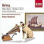 Paavo Berglund Grieg: Peer Gynt Suites/Alfvén/Järnefelt