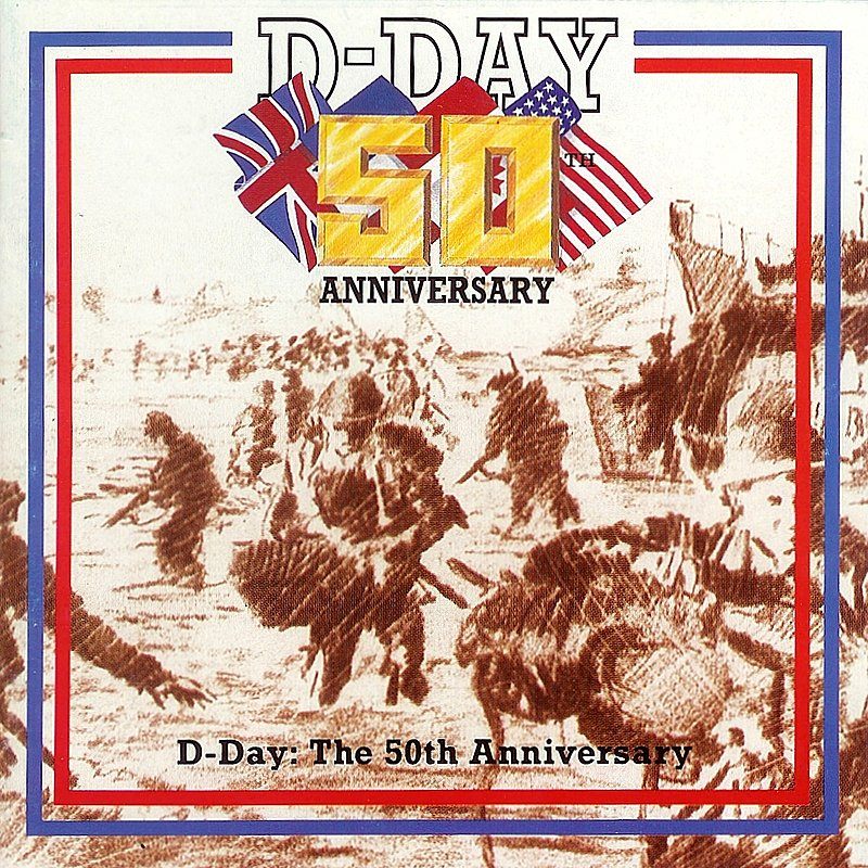 Cover Art: D-Day: The 50th Anniversary