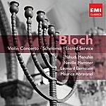 Yehudi Menuhin Bloch: Orchestral & Choral Works Etc