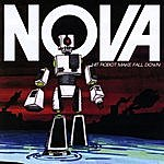 Nova Hit Robot Make Fall Down