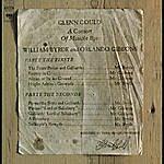 Glenn Gould A Consort Of Musicke Bye William Byrde And Orlando Gibbons