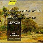 Iona Brown Mozart: Symphony No. 33 / Serenade No. 9