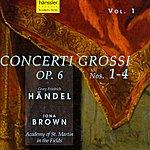 Iona Brown Handel: Concerti Grossi, Op. 6, Nos. 1-4