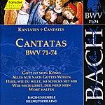 Arleen Augér Bach, J.s.: Cantatas, Bwv 71-74