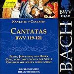 Helmuth Rilling Bach, J.s.: Cantatas, Bwv 119-121