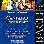 Arleen Augér Bach, J.s.: Cantatas, Bwv 188, 190-192