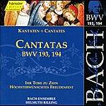 Arleen Augér Bach, J.s.: Cantatas, Bwv 193-194