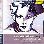 Elisabeth Grümmer Vocal Recital: Grummer, Elisabeth - Mozart, W.a. / Schubert, F.j. / Brahms, J. / Wolf, H.