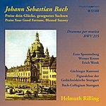 Helmuth Rilling Bach, J.s.: Preise Dein Glucke, Gesegnetes Sachsen / Sinfonias From Cantatas - Bwv 21, 75, 182, 1040