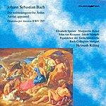 Helmuth Rilling Bach, J.s.: Zufriedengestellte Aolus (Der) / Keyboard Concerto, Bwv 1054