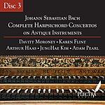 Davitt Moroney Complete Harpsichord Concertos On Antique Instruments - Disc 3