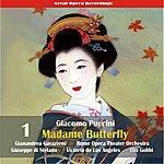 Gianandrea Gavazzeni Giacomo Puccini: Madame Butterfly (Gavazzeni,De Los Angeles,Di Stefano) [1954], Vol. 1