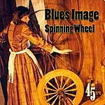 Blues Image Spinning Wheel