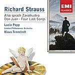 Klaus Tennstedt Strauss: Also Sprach Zarathustra/Don Juan/4 Last Songs Etc