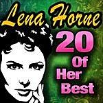 Lena Horne 20 Of Her Best