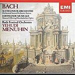 Yehudi Menuhin Bach - Orchestral Suites, Etc
