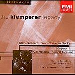 Otto Klemperer Beethoven: Choral Fantasia/ Piano Concerto No.5