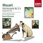 David Oistrakh Mozart : Violin Concertos 1-3/Rondo K373