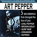 Art Pepper Savoy Jazz Super - Ep