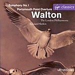 Leonard Slatkin Symphony No.1/Portsmouth Point Overture
