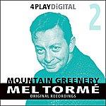 Mel Tormé Mountain Greenery - 4 Track EP