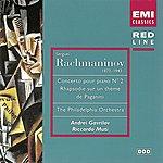 Andrei Gavrilov Rachmaninov: Piano Concerto No. 2/Rhapsody On A Theme Of Paganini