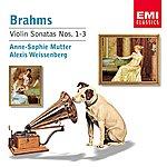 Anne-Sophie Mutter Brahms: Violin Sonatas 1-3