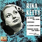 "Rina Ketty Vintage French Song Nº 92 - Eps Collectors, ""la Madone Aux Fleurs"""