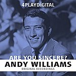 Andy Williams Are You Sincere? - 4 Track Ep