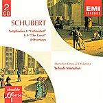 Yehudi Menuhin Symphony 8 & 9 & Overtures