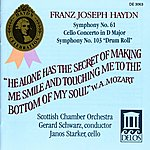 Gerard Schwarz Haydn, F.j.: Symphonies Nos. 61 And 103 / Cello Concerto No. 2