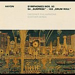 Dresden Philharmonic Orchestra Haydn, F.j.: Symphonies Nos. 93 And 94