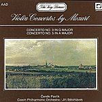 Czech Philharmonic Orchestra Mozart: Concertos For Violin And Orchestra