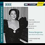 Teresa Berganza Teresa Berganza: An Evening Of Song (Schwetzinger Festspiele Edition, 1985)