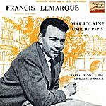"Francis Lemarque Vintage French Song Nº 94 - Eps Collectors, ""marjolaine"""