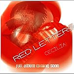 Cecilia Red Letters - Sns (Single)