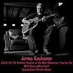 Jorma Kaukonen 2009-03-18 On Patriots Theater At The War Memorial, Trenton, Nj