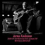 Jorma Kaukonen 2009-03-20 Watercolor Cafe, Larchmont, Ny